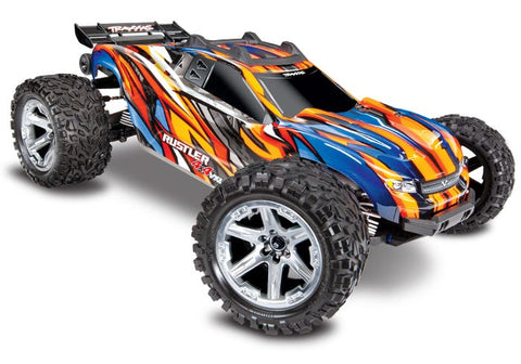 Traxxas Rustler 4X4 VXL Brushless RTR 1/10 4WD Stadium Truck (Orange) w/TQi 2.4GHz Radio & TSM