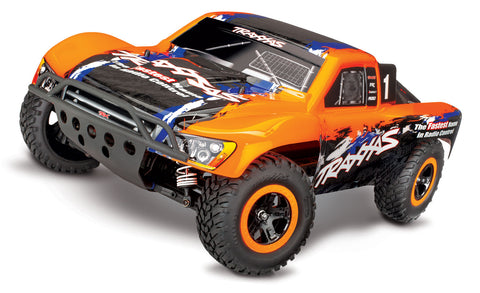 Traxxas Slash 4X4 VXL Brushless 1/10 4WD RTR Short Course Truck (Orange) w/TQi & TSM