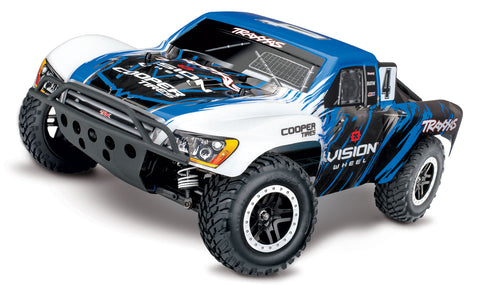 Traxxas Slash 4X4 VXL Brushless 1/10 4WD RTR Short Course Truck (Vision) w/TQi & TSM