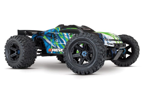 TRAXXAS E-REVO 2.0 VXL 6S 1/10 BRUSHLESS, GREEN