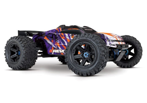 TRAXXAS E-REVO 2.0 VXL 6S 1/10 BRUSHLESS, PURPLE