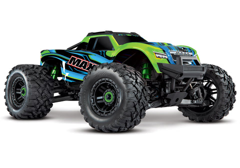 TRAXXAS MAXX 4S 1/10 SCALE MONSTER TRUCK, GREEN