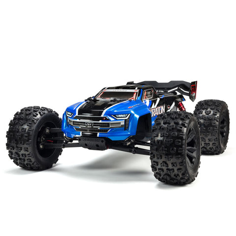 Arrma Kraton 6S BLX RTR 1/8 4WD Brushless Monster Truck (Blue) (V5) w/SLT3 2.4GHz Radio
