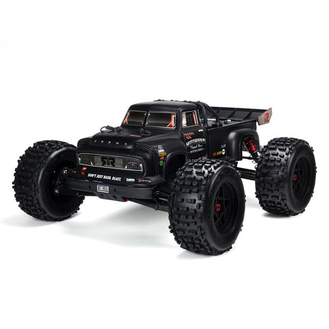 Arrma Notorious 6S BLX Brushless RTR 1/8 Monster Stunt Truck (Black) (V4) w/STX2 2.4GHz Radio