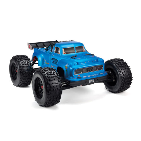 Arrma Notorious 6S BLX Brushless RTR 1/8 Monster Stunt Truck (Blue) w/STX2 2.4GHz Radio