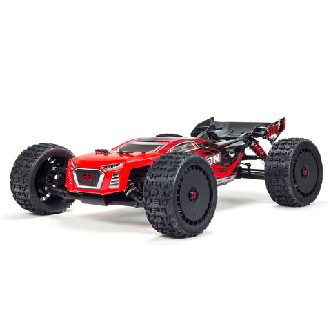 Arrma Talion 6S BLX Brushless RTR 1/8 4WD Truggy (Red/Black) (V4) w/STX2 2.4GHz Radio