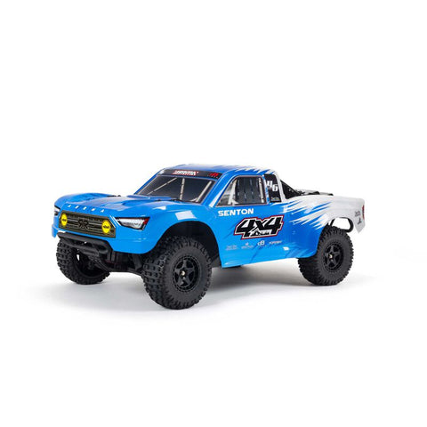 ARRMA SENTON 4X4 V3 MEGA 550 1/10 BRUSHED SHORT COURSE TRUCK RTR, BLUE