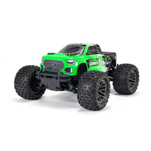 Arrma Granite 4X4 V3 3S BLX 1/10 RTR Brushless 4WD Monster Truck (Green) w/Spektrum SLT3 2.4GHz Radio