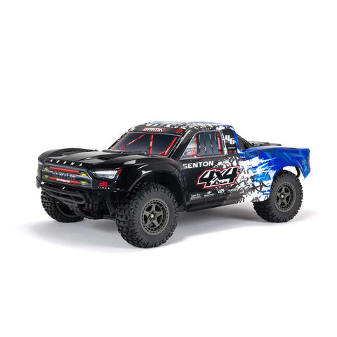 ARRMA SENTON 4X4 V3 3S BLX 1/10 BRUSHLESS SHORT COURSE TRUCK RTR, BLUE