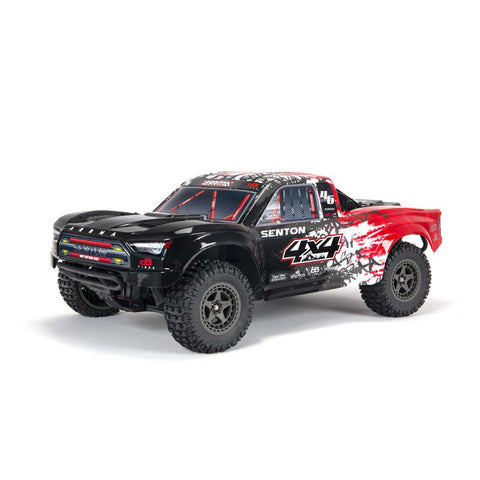ARRMA SENTON 4X4 V3 3S BLX 1/10 BRUSHLESS SHORT COURSE TRUCK RTR, RED