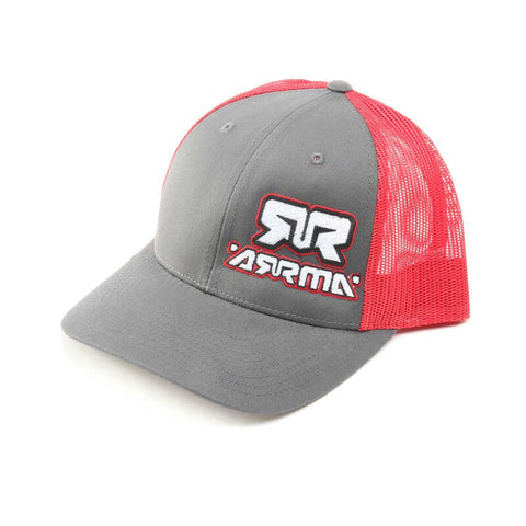 ARRMA Trucker Hat, Red Charcoal