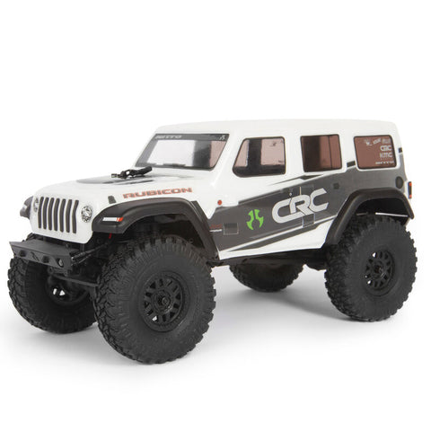 Axial SCX24 2019 Jeep Wrangler JLU CRC 1/24 4WD RTR Scale Mini Crawler (White) w/2.4GHz Radio