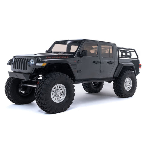 "Axial SCX10 III ""Jeep JT Gladiator"" RTR 4WD Rock Crawler (Grey) w/Portals & DX3 2.4GHz Radio"