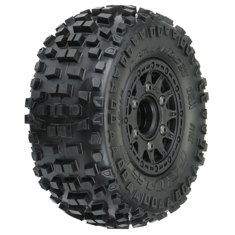 Pro-Line Badlands SC MTD Raid Tires, 6x30 (2): Slash 2WD, 4WD F/R