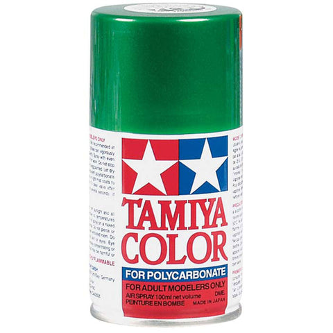 Tamiya PS-17 Metallic Green Lexan Spray Paint (3oz)