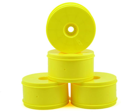 "JConcepts Bullet 4.0"" Standard Offset 1/8 Truck Wheels (4) (Yellow)"