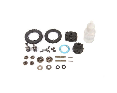 Team Losi Racing 22X-4 Complete Metal Center Gear Differential Set