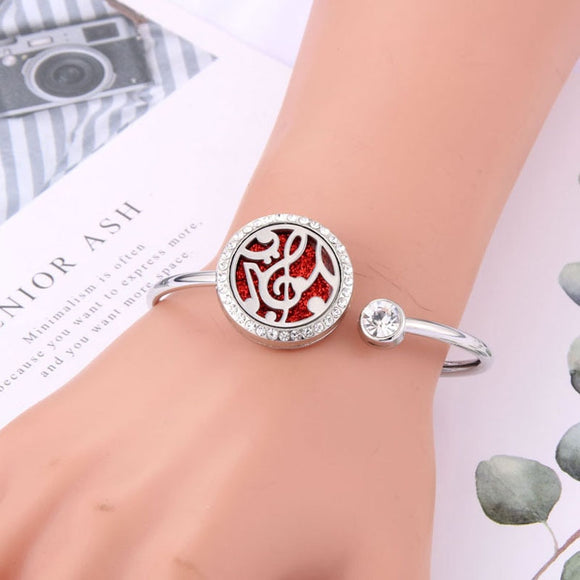 Aromatherapy Women's Fashion Bracelet with Essential Oil Aroma