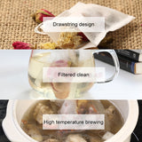 Multifunctional Filter Drawstring Bags for Herbs and Loose Tea