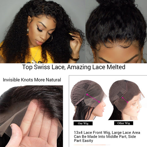 13×4 Lace Frontal Wig