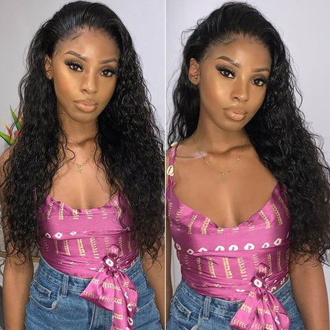 13x6 Lace Frontal Wigs Water Wave