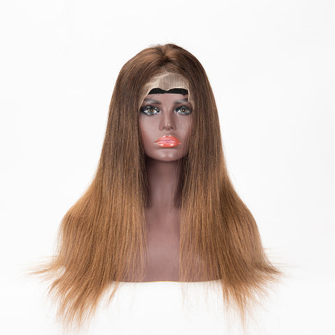 13×6 Lace Front Wig #16/4A Color Straight