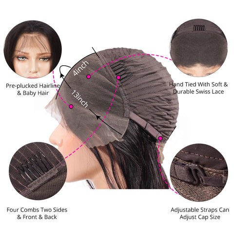 13×4 Lace Frontal