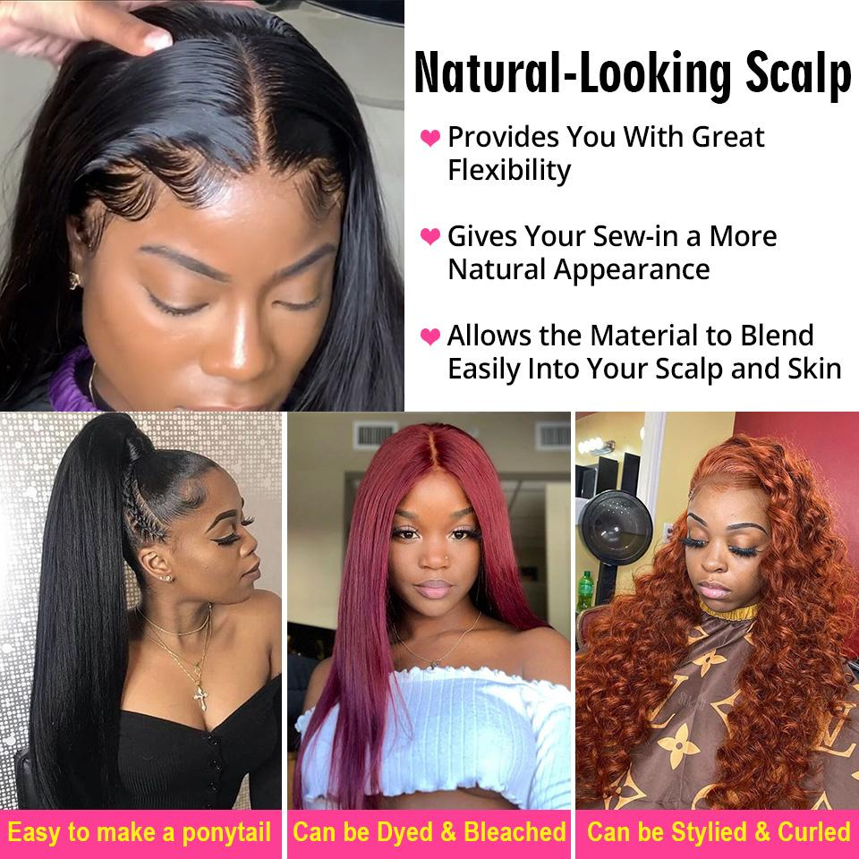 Straight Hair 13×4 Lace Front Wigs