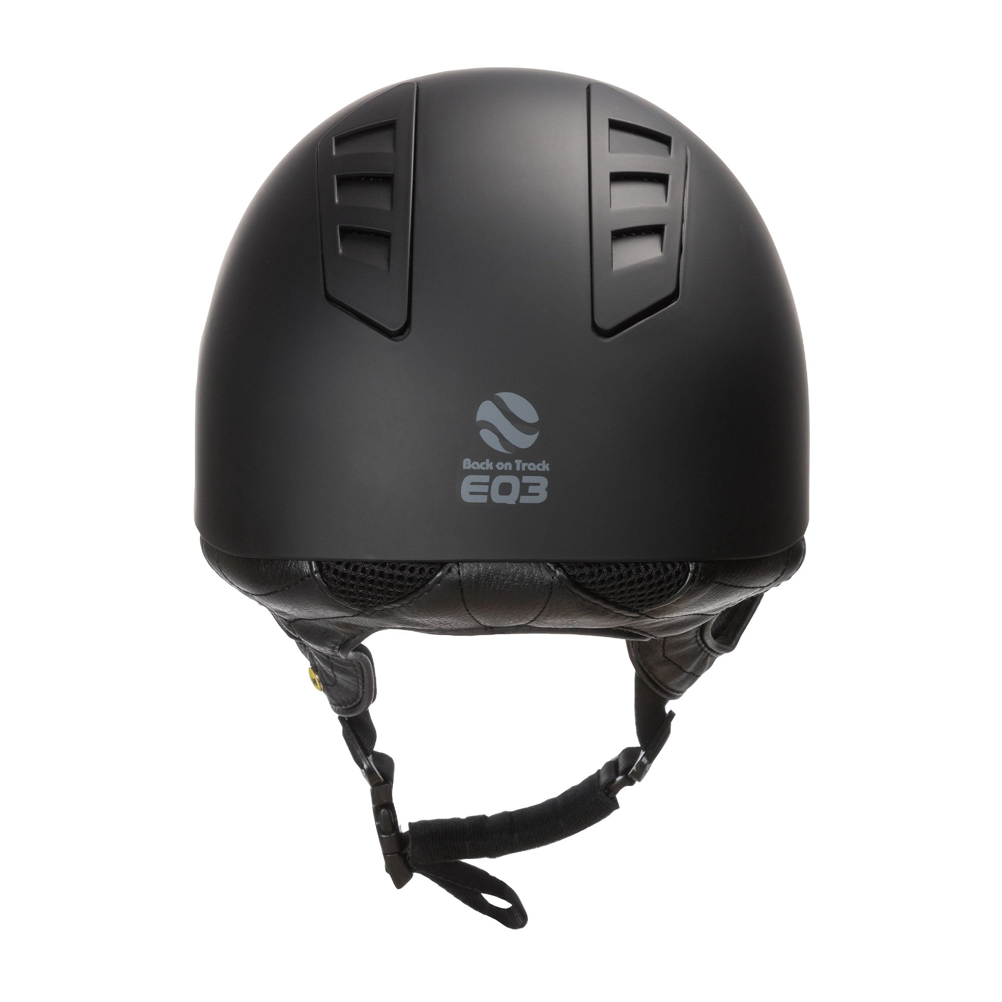 EQ3 Rijhelm Smooth Shell Zwart (5300223115419)