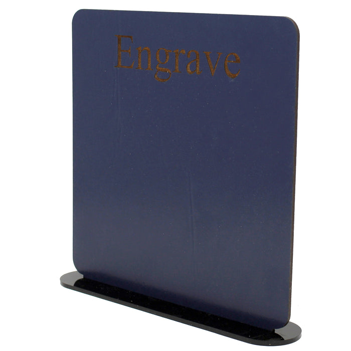 Dark Blue SOLIDboard Double Sided