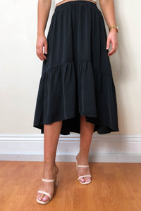 Voile Black Skirt