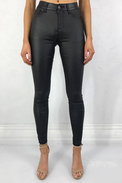 Wetlook Pants