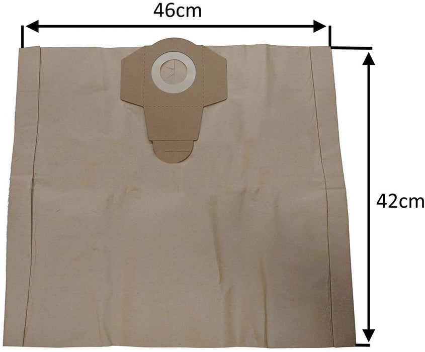 5 x Strong Dust Bags for VACMASTER 20L 30L Wet and Dry Vacuum Cleaners hoover