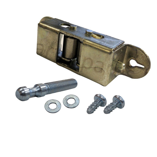 Door Keeper Ball Catch Latch Striker Roller Type for TRICITY BENDIX Oven Cooker w/ Screws - bartyspares