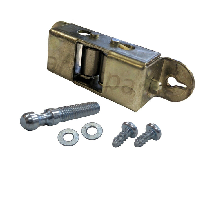 Door Keeper Ball Catch Latch Striker Roller Type for INDESIT Oven Cooker w/ Screws