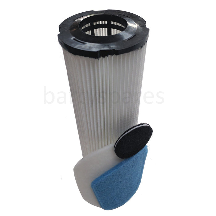 Brush Bar Hepa Filter Kit & 2 Belts for Vax Turboforce Vacuum Cleaner - bartyspares