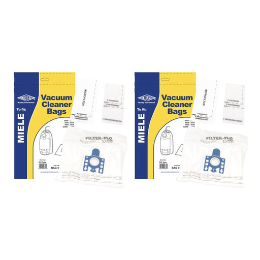 10 x MIELE GN Dust Bags & Filters S400i S5000 BLUE COLLAR BAG307 Compatible - bartyspares