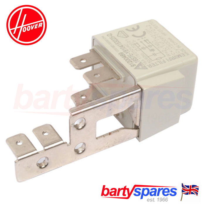 Hoover Candy Tumble Dryer Mains Filter Suppressor Start Unit Capacitor 91200489 - bartyspares