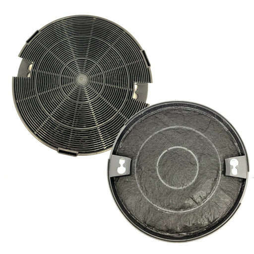 2 x Type 29 Charcoal Carbon Vent Filters for INT 60 SIL Cooker Hood 190mm x 35mm - bartyspares