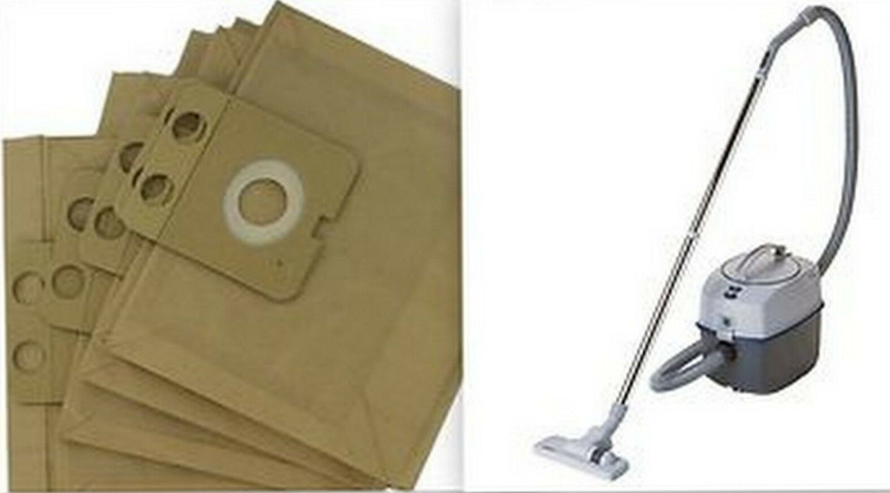 10 x DUST BAGS for NILFISK VAC CLEANER hoover GD1000 CDB3050 HDS2000 GD2000 GD910 - bartyspares