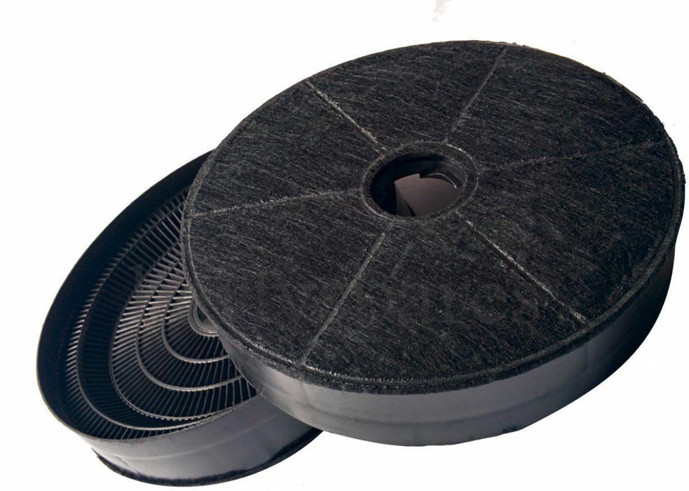 FOUR Charcoal Carbon Hood Filters for CDA CCA5+7, CIGE9, CIN6, CTE6, 3C9, EVP61 - bartyspares
