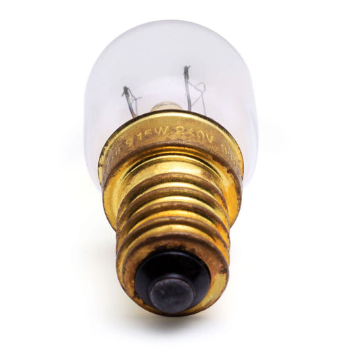 15w 240v 'SES' E14 Oven Cooker High Temperature Bulb Lamp 300° Clear - bartyspares