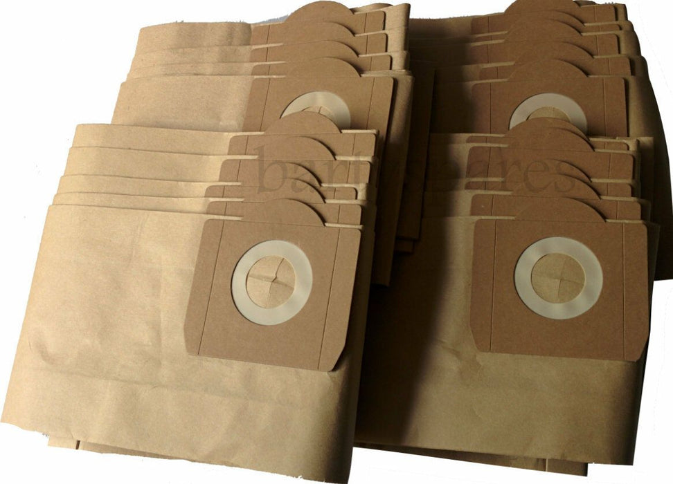 20 x Strong Dust hoover BAGS for SHOPVAC Classic Wet & Dry Vacuum Cleaner - bartyspares