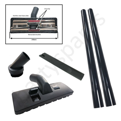 35mm Extension Tube Rods Floor Tool Brush Kit for KARCHER WD3 WD3P Wet & Dry - bartyspares