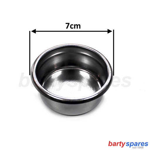 Gaggia Coffee Machine Triple Shot Filter Tamper Basket Gaggia Classic Pure Baby - bartyspares