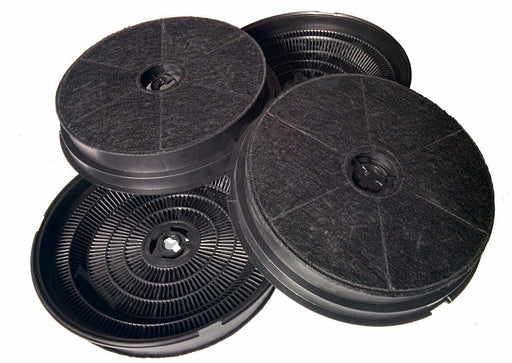 4 x Charcoal Carbon cooker oven Hood Odour Filters for Belling Stoves 082634706 - bartyspares