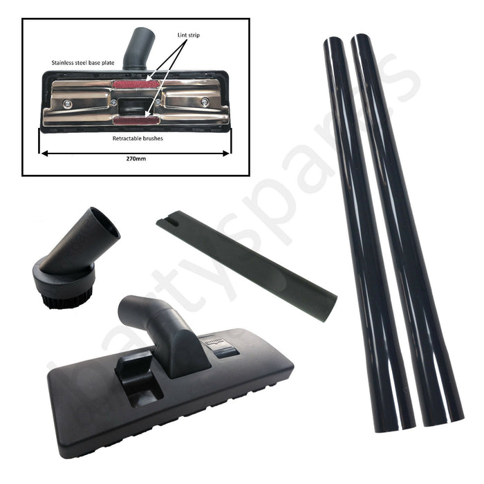 ASDA WICKES ALDI LIDL TESCO Vacuum Cleaner Hoover Rods Tool Kit Brush Nozzle Pipe Tube 32mm