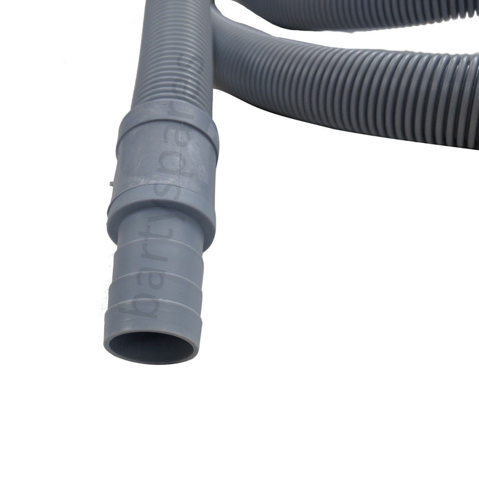 UNIVERSAL Dishwasher Waste Long Drain Hose Pipe Extension Connection Kit 2.5m
