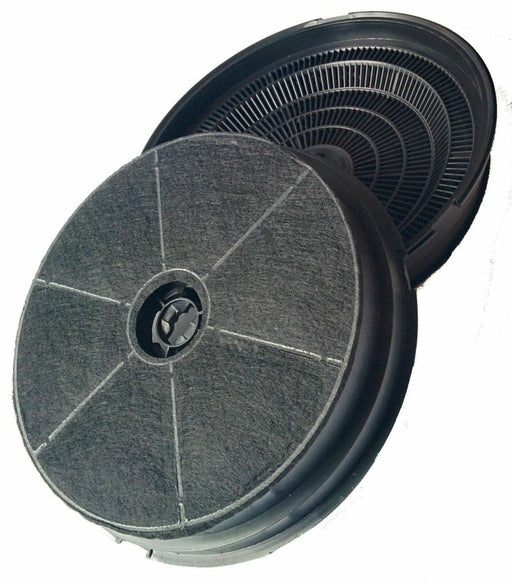 2 x Cooker Hood Charcoal Filters for CDA CHA21 CCA5 CCA7  CST6 CHA5  EVP EVG EVPK - bartyspares