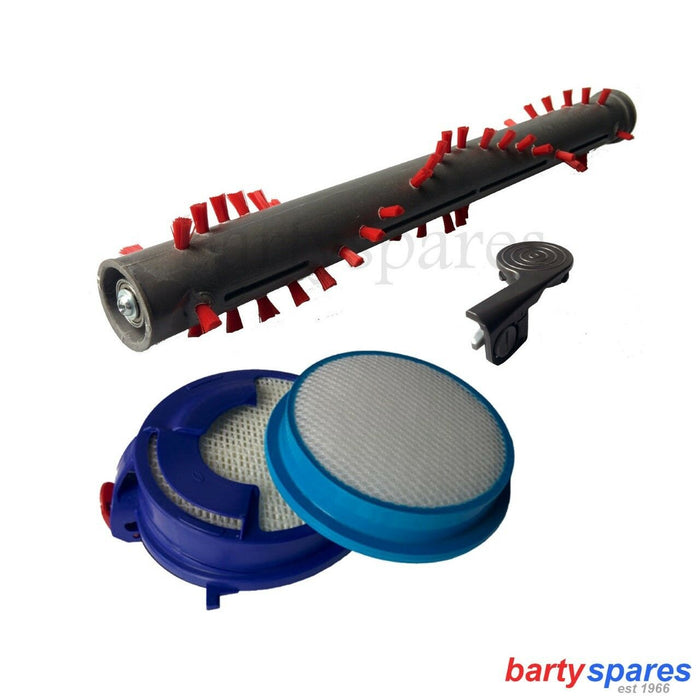 Dyson DC24 Vacuum Brush Bar / End Cap & Hepa / Washable Filter Kit